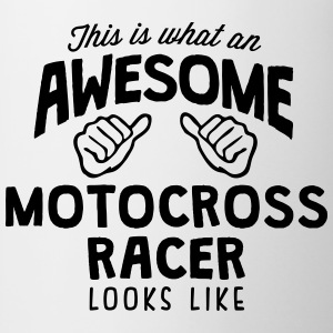 awesome motocross racer looks like - Mug