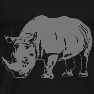 Rhino Hoodies & Sweatshirts - Men's Premium T-Shirt