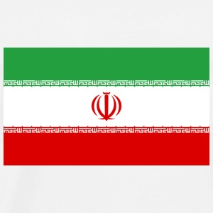 National Flag of Iran Tops - Men's Premium T-Shirt