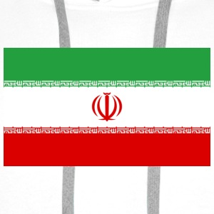 National Flag of Iran Shirts - Men's Premium Hoodie