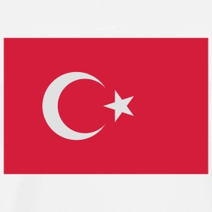 National Flag of Turkey Babybody - Premium T-skjorte for menn