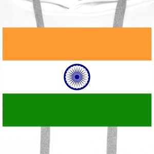 National Flag of India Tanktoppar - Premiumluvtröja herr