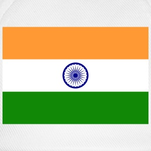 National Flag of India T-skjorter - Baseballcap