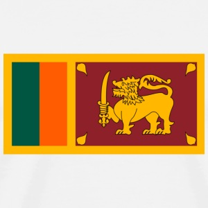 National Flag of Sri Lanka Long sleeve shirts - Men's Premium T-Shirt