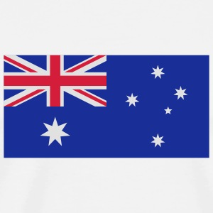 National flag of Australia Mugs & Drinkware - Men's Premium T-Shirt