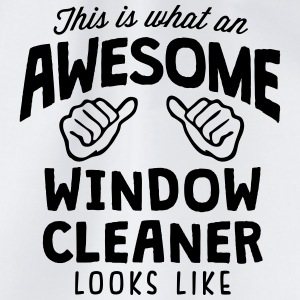 awesome window cleaner looks like - Drawstring Bag