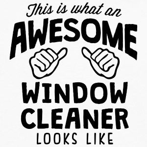 awesome window cleaner looks like - Men's Premium Longsleeve Shirt