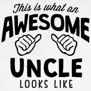 awesome uncle looks like - Baseball Cap