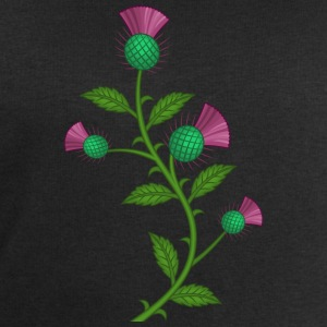 Scottish Thistle flower - Felpa da uomo di Stanley & Stella
