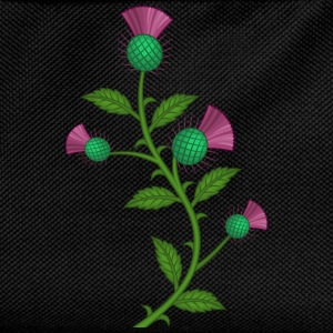 Scottish Thistle flower - Mochila infantil