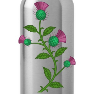 Scottish Thistle flower - Drinkfles