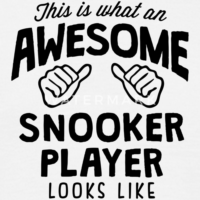 awesome snooker player looks like - Men's T-Shirt