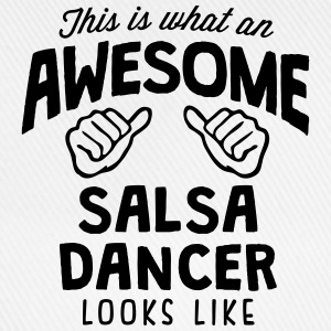 awesome salsa dancer looks like - Baseball Cap