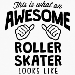 awesome roller skater looks like - Men's Premium Longsleeve Shirt
