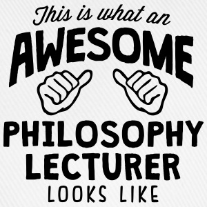 awesome philosophy lecturer looks like - Baseball Cap