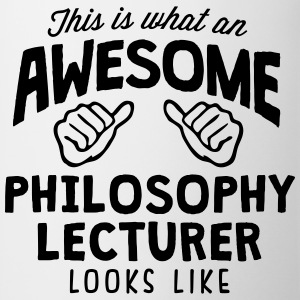 awesome philosophy lecturer looks like - Mug