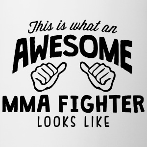 awesome mma fighter looks like - Mug