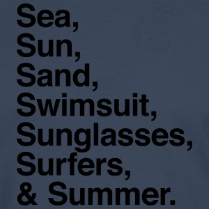 Sea Sun Sand Surfers and Summer T-shirts - Långärmad premium-T-shirt herr