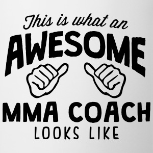 awesome mma coach looks like - Mug