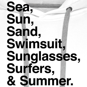 Sea Sun Sand Surfers and Summer T-shirts - Premiumluvtröja herr