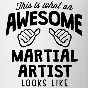 awesome martial artist looks like - Mug