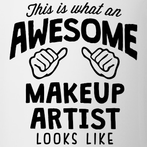 awesome makeup artist looks like - Mug