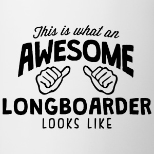 awesome longboarder looks like - Mug
