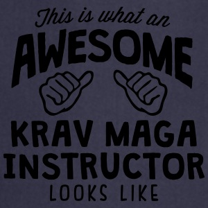 awesome krav maga instructor looks like - Cooking Apron