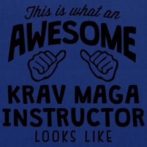 awesome krav maga instructor looks like - Tote Bag
