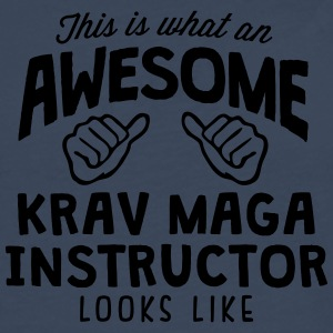 awesome krav maga instructor looks like - Men's Premium Longsleeve Shirt