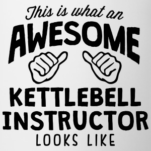 awesome kettlebell instructor looks like - Mug