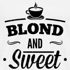 Blonde and sweet coffee 1 dd Long Sleeve Shirts - Men's Premium T-Shirt