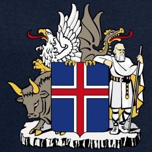 Coat of Arms Republic of Iceland - Sweatshirt herr från Stanley & Stella