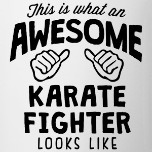8awesome karate fighter looks like88 - Mug