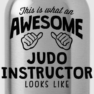 awesome judo instructor looks like - Water Bottle