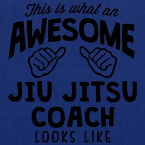 awesome jiu jitsu coach looks like - Tote Bag