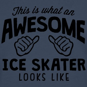 awesome ice skater looks like - Men's Premium Longsleeve Shirt