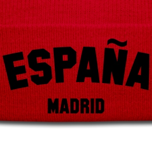 SPAIN MADRID T-Shirts - Winter Hat