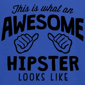 awesome hipster looks like - Women's Tank Top by Bella