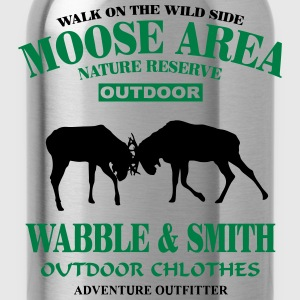 Fighting Moose  Hoodies & Sweatshirts - Water Bottle