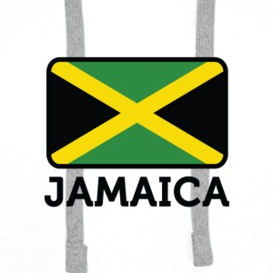 National Flag of Jamaica Skjorter - Premium hettegenser for menn