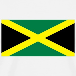 National Flag of Jamaica Long sleeve shirts - Men's Premium T-Shirt