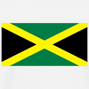 National Flag of Jamaica Accessories - Herre premium T-shirt