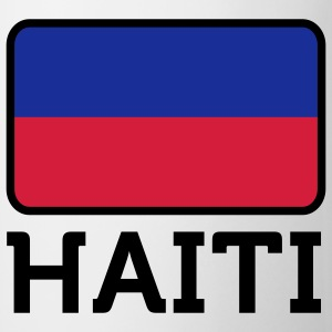 Nationale Vlag van Haïti T-shirts - Mok