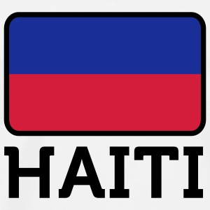 National Flag of Haiti Long Sleeve Shirts - Men's Premium T-Shirt