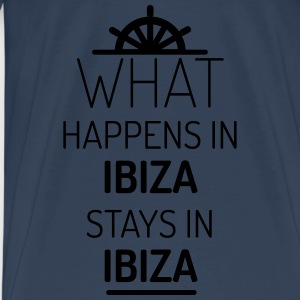 what happens in ibiza stays in ibiza Tops - Männer Premium T-Shirt