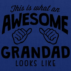 awesome grandad looks like - Tote Bag