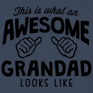 awesome grandad looks like - Men's Premium Longsleeve Shirt