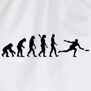 Evolution Frisbee T-Shirts - Turnbeutel