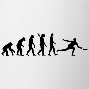 Evolution Frisbee T-Shirts - Tasse